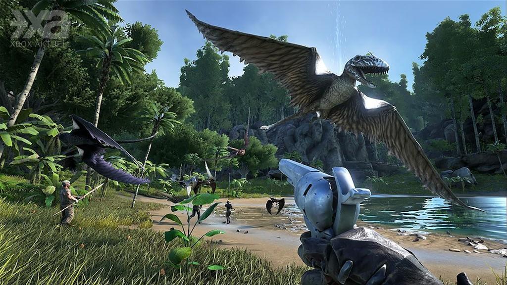 Kletterausrüstung Xbox One : Ark: aberration erweiterung für 12. dezember angekündigt xbox