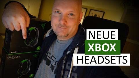 Neue Xbox-Headsets: Razer Kaira und Razer Kaira Pro - Unboxing und Hands-on