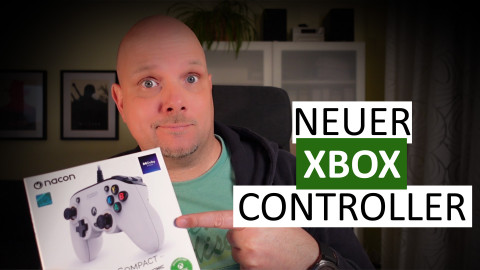 Programmierbarer Controller: Nacon Pro Compact - Unboxing und Hands-on