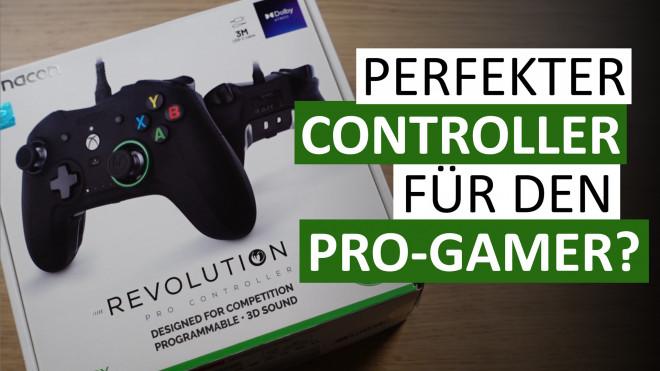 Gamepad für den Wettbewerb: Nacon Revolution X Pro Controller - Unboxing und Hands-on